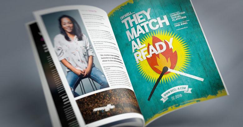 Magazine ad A4