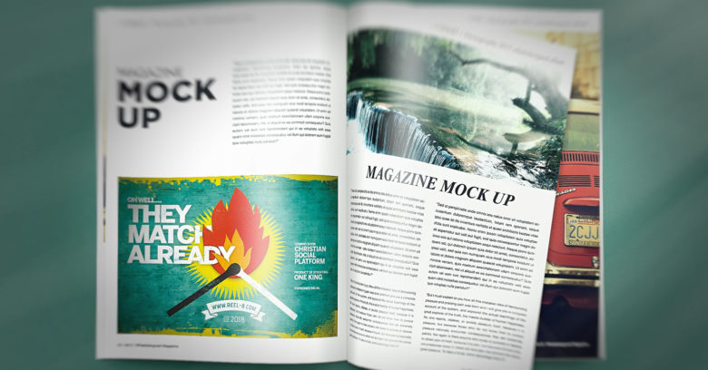 Magazine ad A5