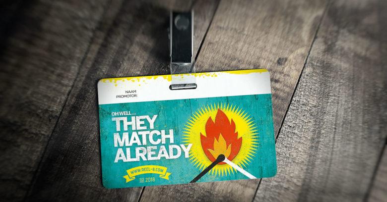 ID Matches - De kaarten werden gebruikt door de promotors